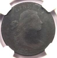1804 DRAPED BUST LARGE CENT 1C S-266C - NGC FINE DETAIL -  KEY DATE COIN