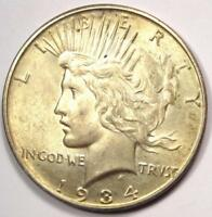 1934-D PEACE SILVER DOLLAR $1 - EXCELLENT CONDITION -  LUSTER -  DATE