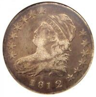 1812/1 CAPPED BUST HALF DOLLAR 50C O-102A - CERTIFIED ANACS VF30 -  COIN