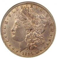 1895-O MORGAN SILVER DOLLAR $1 - CERTIFIED NGC EXTRA FINE 40 EF40 PQ - $625 VALUE
