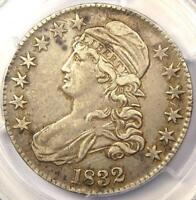 1832 CAPPED BUST HALF DOLLAR 50C - PCGS EXTRA FINE 45 EF45 -  CERTIFIED COIN