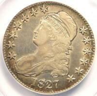 1827 CAPPED BUST HALF DOLLAR 50C O-146 - ANACS EXTRA FINE 40 DETAILS EF40 -  COIN