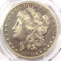 1895-O MORGAN SILVER DOLLAR $1 - PCGS F15 -  DATE CERTIFIED COIN