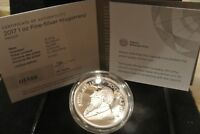 2017 50TH ANNIVERSARY SILVER  PROOF KRUGERRAND   OGP   12996