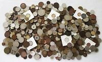 8  POUNDS OF OLD WORLD COINS >  LOT > SEE HI RES SCANS >