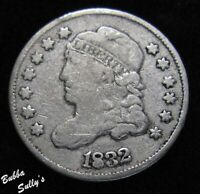 1832 CAPPED BUST HALF DIME <> FINE