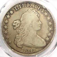 1803 DRAPED BUST SILVER DOLLAR $1 BB-251 - PCGS FINE DETAILS -  COIN