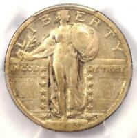 1923-S STANDING LIBERTY QUARTER 25C COIN - PCGS VF25 -  DATE - $975 VALUE