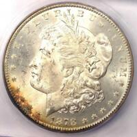 1878-CC MORGAN SILVER DOLLAR $1 - ICG MINT STATE 64 -  IN MINT STATE 64 GRADE - $585 VALUE