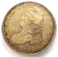 1828 CAPPED BUST QUARTER 25C - ICG EXTRA FINE 40 -  EARLY DATE COIN - $1,500 VALUE