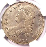 1821 CAPPED BUST HALF DOLLAR 50C COIN O-103 - NGC EXTRA FINE  DETAILS EF -  DATE