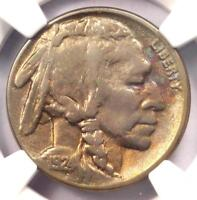 1924-S BUFFALO NICKEL 5C - CERTIFIED NGC EXTRA FINE  DETAILS -  DATE -  COIN