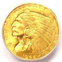 1926 INDIAN GOLD QUARTER EAGLE $2.50 COIN - ICG MINT STATE 65 PLUS GRADE - $2,250 VALUE