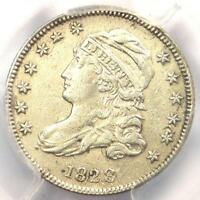 1828 CAPPED BUST DIME 10C SMALL DATE - PCGS EXTRA FINE  DETAIL EF -  COIN