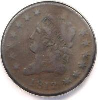 1812 CLASSIC LIBERTY LARGE CENT 1C - ANACS VF30 DETAILS -  DATE PENNY