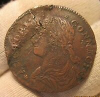 1787 CONNECTICUT COPPER  33.29 Z.7  RARITY 5