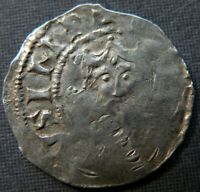MEDIEVAL SILVER COIN 900 1200 AD CRUSADER CROSS EUROPE ANCIE