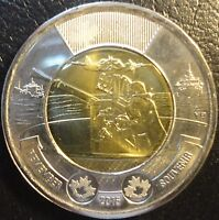 CANADA TOONIE REMEMBRANCE DAY 2016 PL66