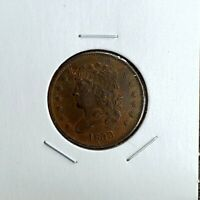 1833 CLASSIC HEAD HALF CENT - GREAT LOOKING PIECE - TOUGH DATE