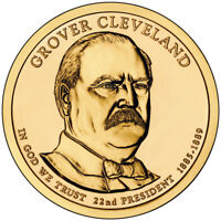 2012-P GROVER CLEVELAND PRESIDENTIAL DOLLAR FIRST TERM UNOPENED BOX - GC5