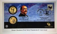 2012 GROVER CLEVELAND FIRST TERM $1 FDCC FIRST DAY COVER SEALED MAILER P42