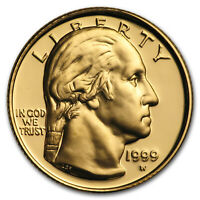 1999 W GOLD $5 COMMEM GEORGE WASHINGTON PROOF  COIN ONLY    SKU45415
