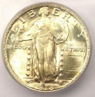 1918-D STANDING LIBERTY QUARTER 25C COIN - CERTIFIED ICG MINT STATE 66 - $2,670 VALUE