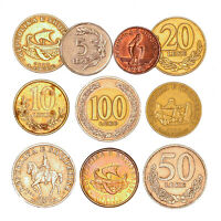 ALBANIA COINS FROM SHQIPRIS 1 LEK   100 LEKE OLD COLLECTIBLE COINS
