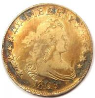 1806 DRAPED BUST HALF DOLLAR 50C - STRONG DETAILS CLEANED -  EARLY COIN