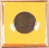 1825 CLASSIC HEAD HALF CENT SMALLEST DENOMINATION US COIN POSTAL COMMEM SOCIETY