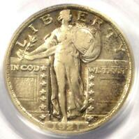1921 STANDING LIBERTY QUARTER 25C - CERTIFIED PCGS VF35 -  DATE - $650 VALUE