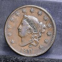 1831 LARGE CENT - VF 22118