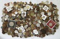 8  POUNDS OF OLD WORLD COINS >  LOT > SEE IMAGES >