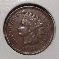 1902 INDIAN HEAD CENT , EXTRA FINE