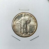 1923-S STANDING LIBERTY QUARTER - GREAT LOOKING PIECE - SOME TONE - BETTER DATE
