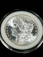 1903-O MORGAN SILVER DOLLAR GEM BU BLAST WHITE SUPER LUSTER, AIRTIGHT CAP PA232