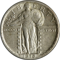 1918-S STANDING LIBERTY QUARTER GREAT DEALS FROM THE EXECUTIVE COIN COMPANY