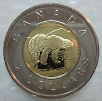 2002 CANADA TOONIE PROOF LIKE TWO DOLLAR COIN