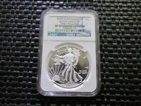 2013-W NGC SP-70 SILVER EAGLE WEST POINT EAGLE ENHANCED FINISH EARLY RELEASES