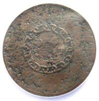1793 FLOWING HAIR CHAIN CENT 1C COIN
