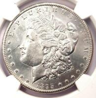 1895-S MORGAN SILVER DOLLAR $1 - NGC AU DETAILS -  COIN - LOOKS MS / UNC