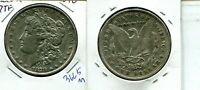1878 7TF REVERSE OF 1878 MORGAN SILVER DOLLAR DOUBLED