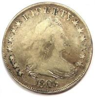 1806 DRAPED BUST HALF DOLLAR 50C - FINE DETAILS CONDITION -  EARLY COIN