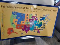 FIRST STATE QUARTERS ALL 50 COMPLETE SET COLLECTION W/ALBUM