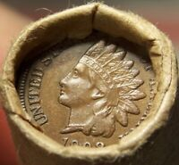 1908 INDIAN HEAD/1882 INDIAN HEAD CENT ENDS MIXED ANTIQUE RO