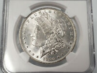 1904-O NGC MINT STATE 63 MORGAN SILVER DOLLAR  EYE APPEAL ESTATE FIND 920-286