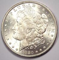 1880-O MORGAN SILVER DOLLAR $1 COIN -  BU MS UNC - GREAT LUSTER