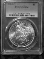 1904 O MORGAN SILVER DOLLAR MINT STATE 64 PCGS