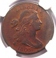 1803 DRAPED BUST LARGE CENT 1C   NGC XF DETAILS    EF EARLY DATE PENNY