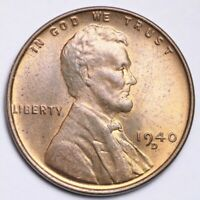 1940-D LINCOLN WHEAT SMALL CENT CHOICE SHIPS FREE E188 T